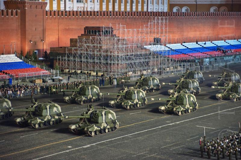 Parade Rehearsal In Moscow 3