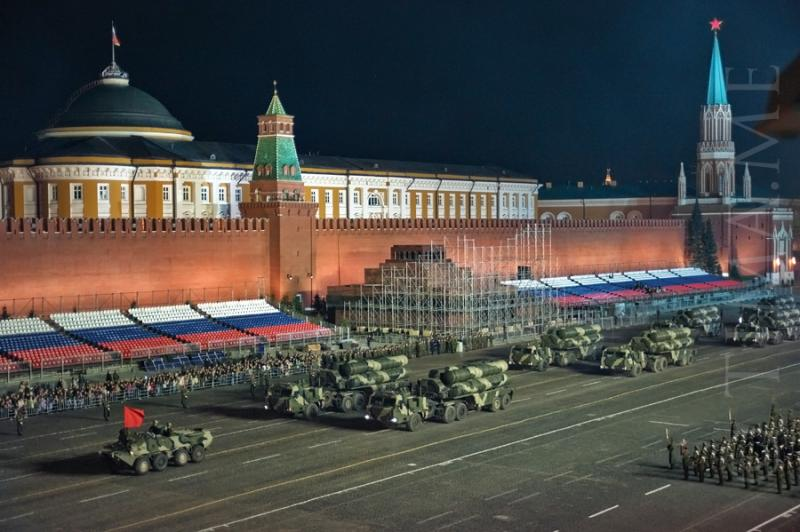 Parade Rehearsal In Moscow 4