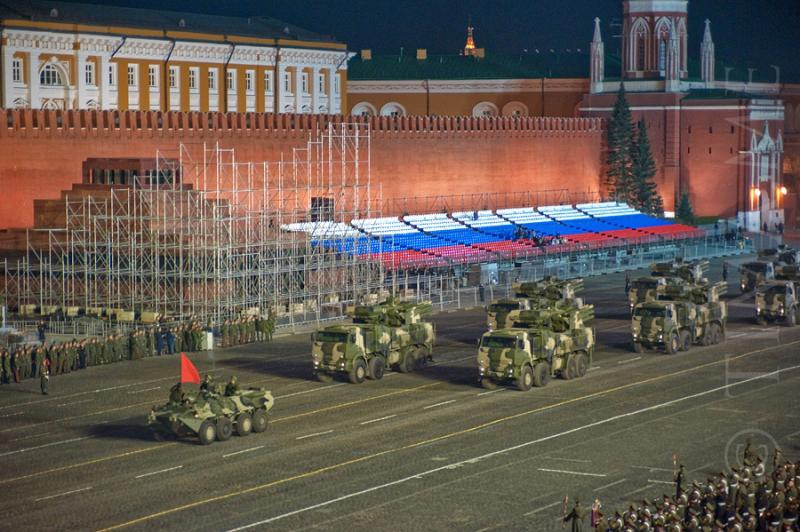 Parade Rehearsal In Moscow 5