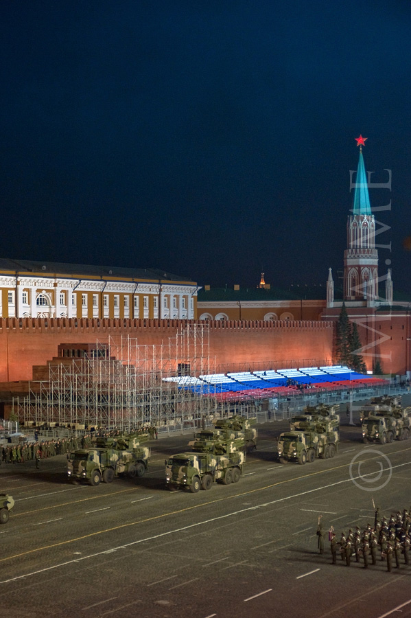 Parade Rehearsal In Moscow 6
