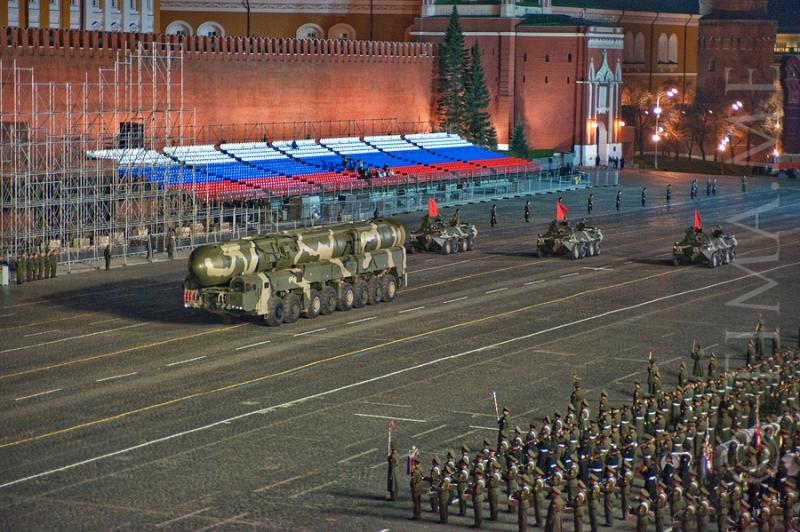 Parade Rehearsal In Moscow 8