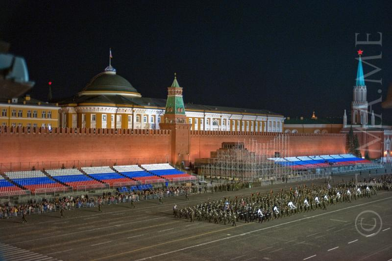 Parade Rehearsal In Moscow 9