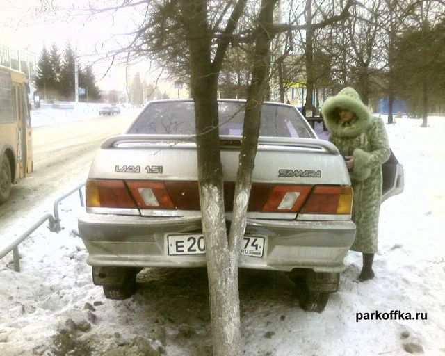 russian parking