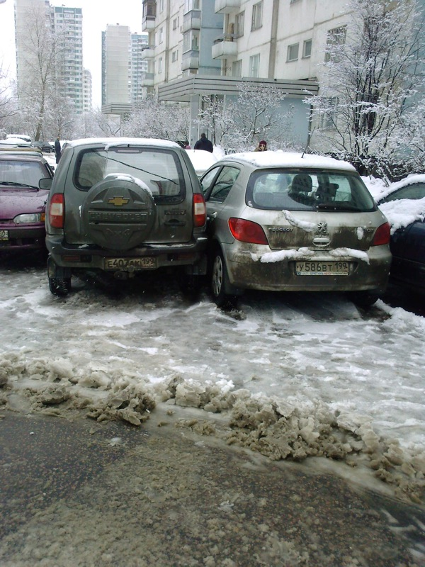 Russian cars parking 2