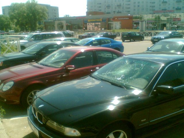 once on the parking in Lithuania 2