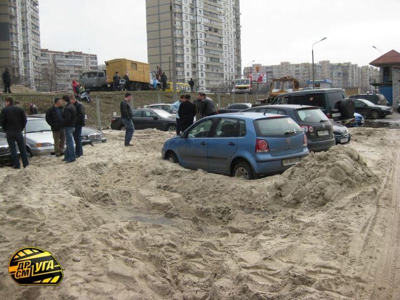 Russian parking in Ukraine 2