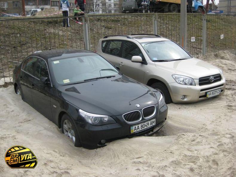 Russian parking in Ukraine 4