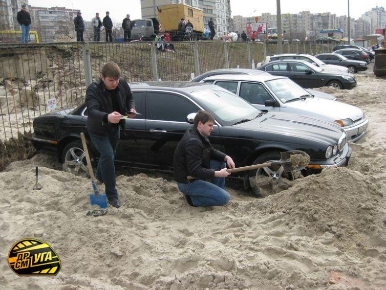 Russian parking in Ukraine 5