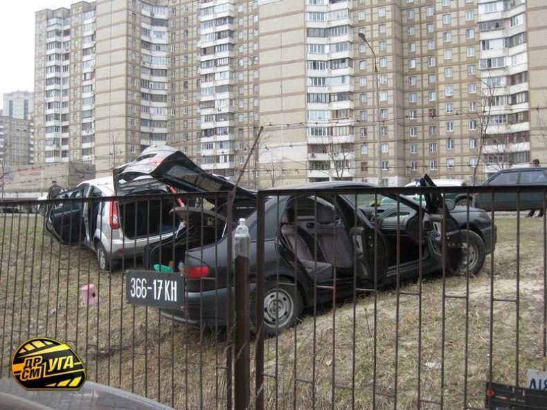 Russian parking in Ukraine 6