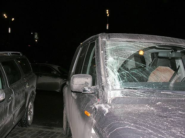 Russian girl parking 4