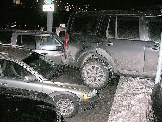 Russian girl parking 2