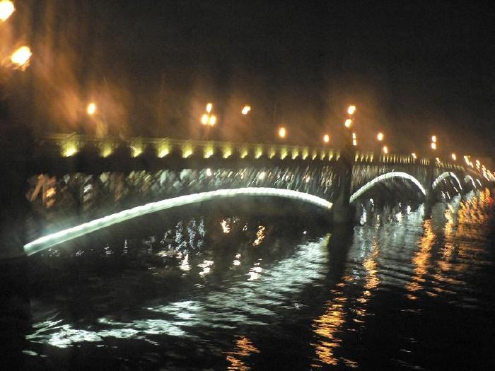 St. Petersburg bridges at night 10
