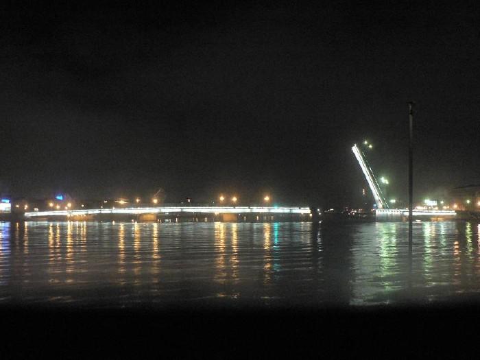 St. Petersburg bridges at night 11