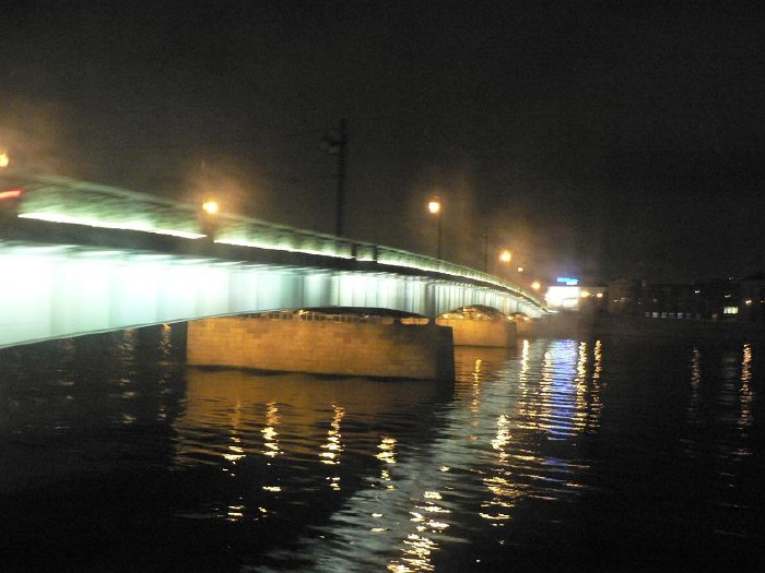 St. Petersburg bridges at night 14