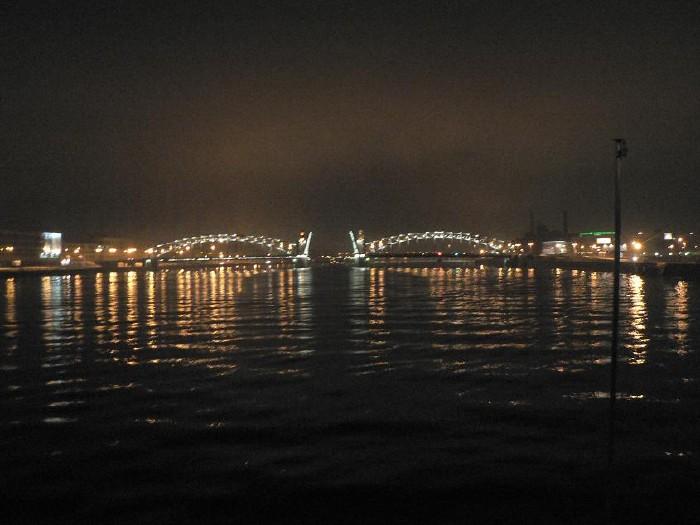 St. Petersburg bridges at night 15