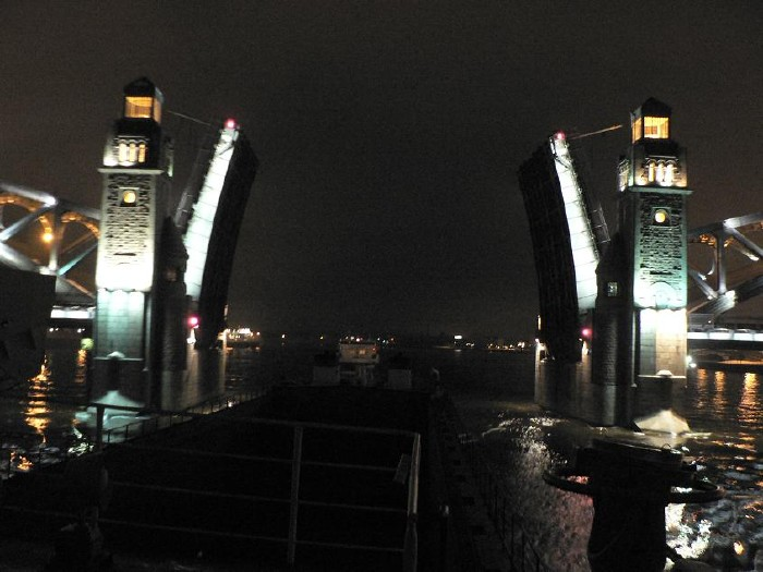 St. Petersburg bridges at night 19