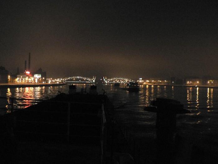 St. Petersburg bridges at night 21