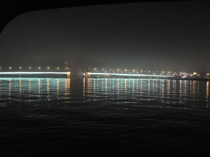 St. Petersburg bridges at night 22