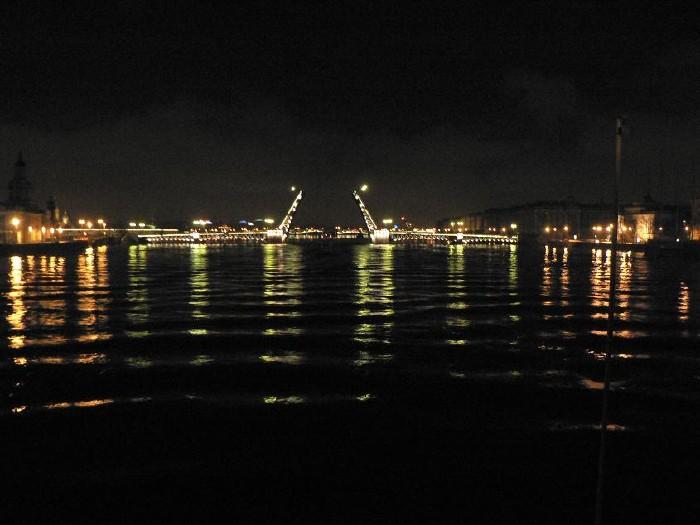 St. Petersburg bridges at night 6