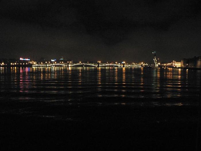 St. Petersburg bridges at night 8