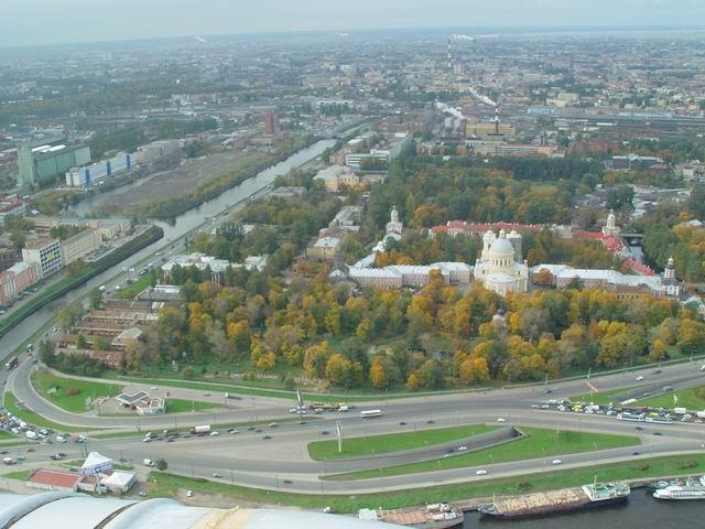 aerial view of St. Petersburg 10