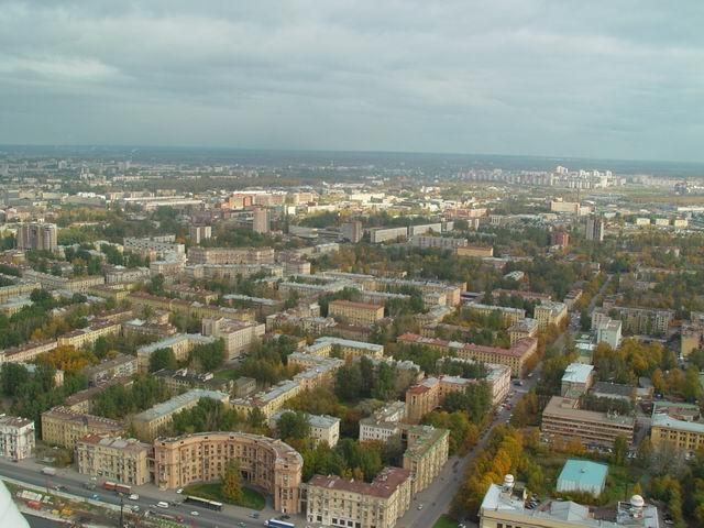 aerial view of St. Petersburg 11