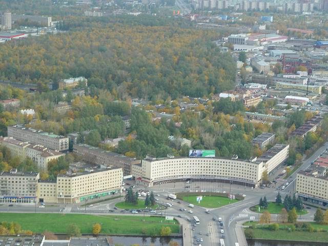 aerial view of St. Petersburg 12