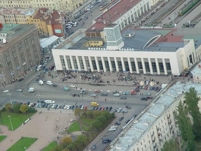 aerial view of St. Petersburg 13