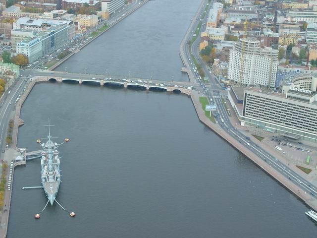 aerial view of St. Petersburg 15