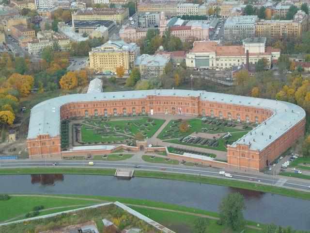 aerial view of St. Petersburg 16