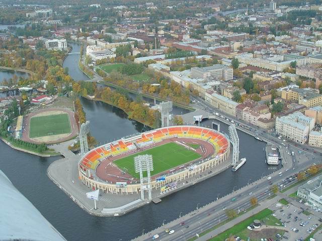 aerial view of St. Petersburg 17