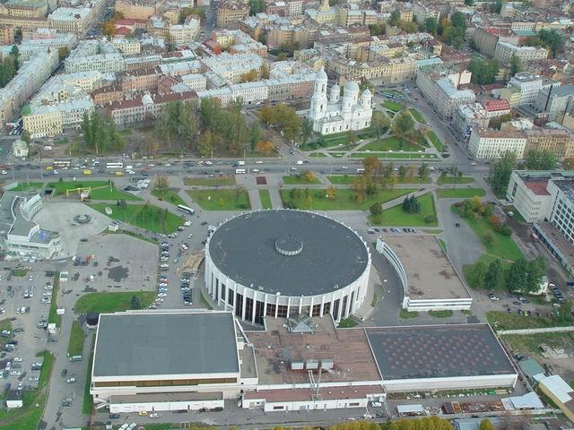 aerial view of St. Petersburg 18