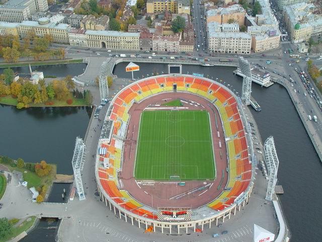 aerial view of St. Petersburg 19