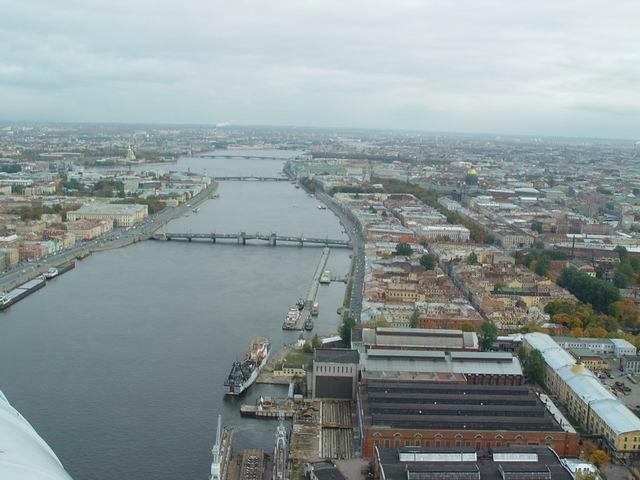 aerial view of St. Petersburg 2