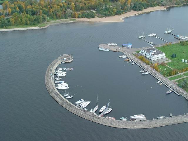 aerial view of St. Petersburg 20