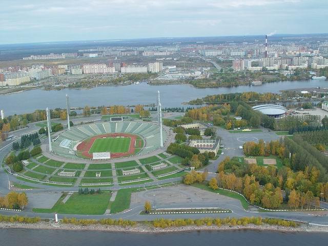 aerial view of St. Petersburg 21