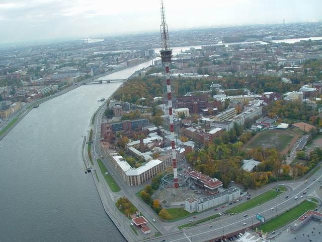 aerial view of St. Petersburg 22