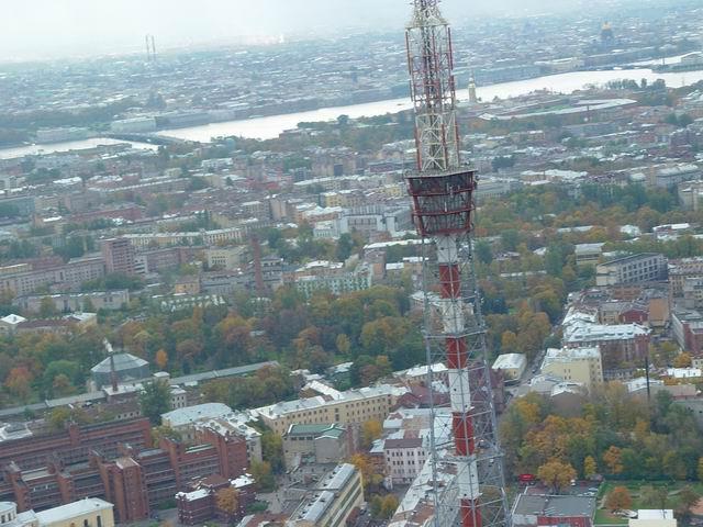 aerial view of St. Petersburg 23