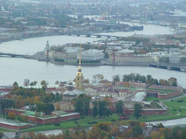 aerial view of St. Petersburg 24