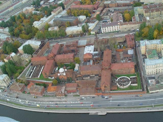 aerial view of St. Petersburg 25