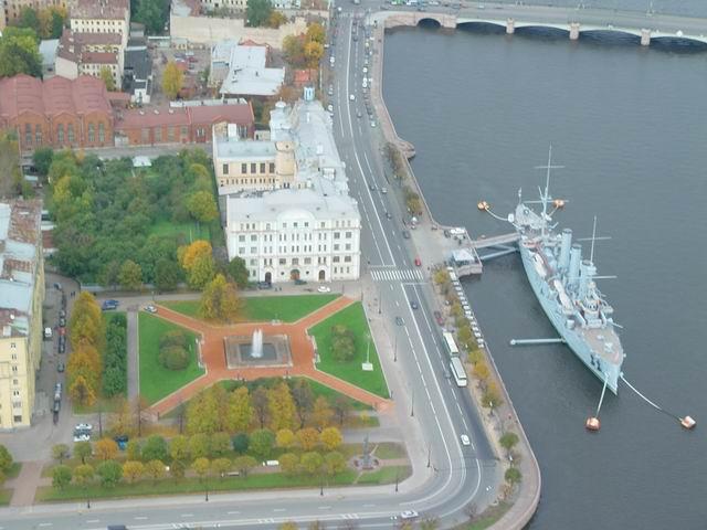 aerial view of St. Petersburg 26