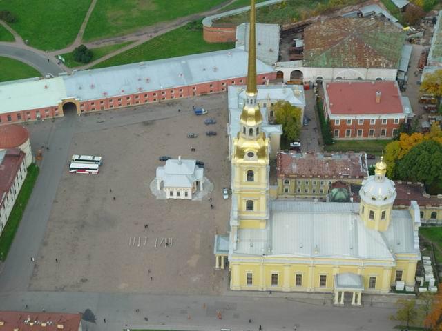 aerial view of St. Petersburg 27