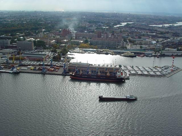 aerial view of St. Petersburg 28