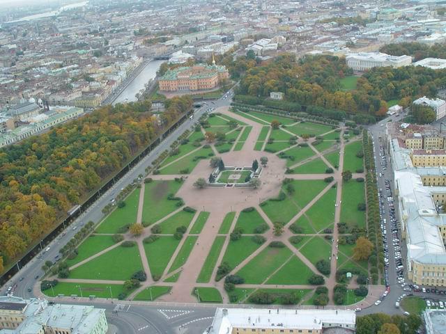 aerial view of St. Petersburg 29