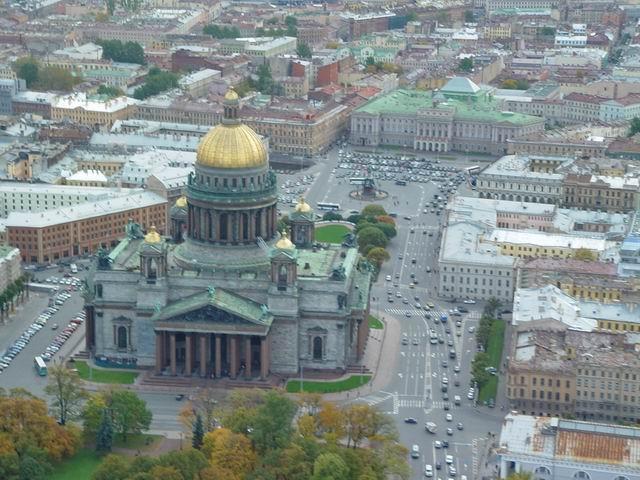 aerial view of St. Petersburg 3