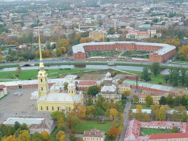 aerial view of St. Petersburg 30