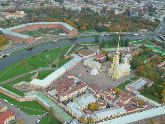 aerial view of St. Petersburg 32