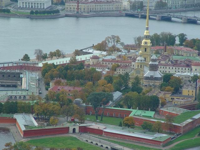 aerial view of St. Petersburg 33
