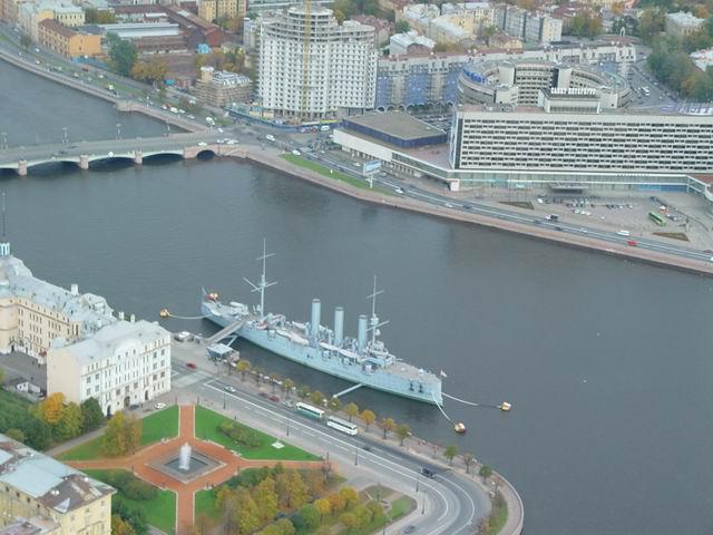 aerial view of St. Petersburg 34
