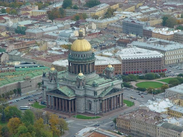 aerial view of St. Petersburg 35
